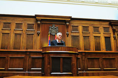 President of Serbia Tomislav Nikolich Royalty Free Stock Images