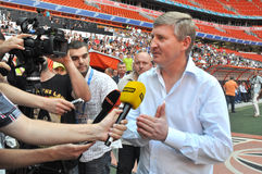 President of Shakhtar - Rinat Akhmetov Stock Photos