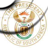 President of South Africa Seal. Stock Image