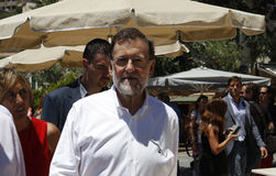 The president of Spain Mariano Rajoy. Royalty Free Stock Images