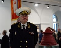 President of St. Petersburg Admiral Committee Yury Sysuyev Stock Photography