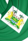 President Standard van Sierra Leone Stock Afbeeldingen