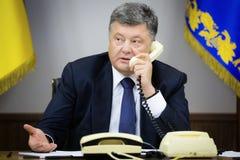 President of Ukraine Petro Poroshenk Stock Image