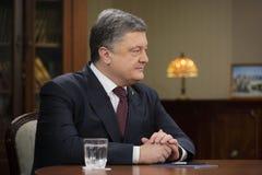 President of Ukraine Petro Poroshenko Royalty Free Stock Photo