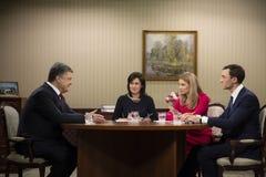 President of Ukraine Petro Poroshenko Stock Photo