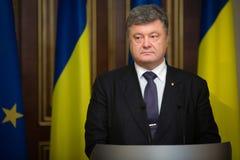 President of Ukraine Petro Poroshenko Stock Images