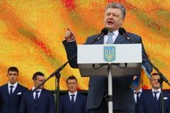 President of Ukraine Petro Poroshenko Stock Image