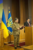 President of Ukraine Petro Poroshenko Royalty Free Stock Image