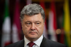 President of Ukraine Petro Poroshenko Royalty Free Stock Images