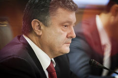 President of Ukraine Petro Poroshenko Stock Images