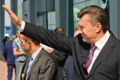President of Ukraine Viktor Yanukovitch Royalty Free Stock Photos