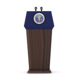 The President of the United States Royalty Free Stock Photo