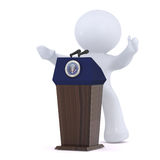 The President of the United States of America Royalty Free Stock Photo
