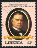 President of the United States William McKinley Stock Photography