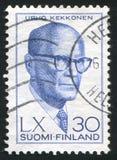 President Urho Kekkonen Royalty Free Stock Photos