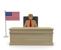 President / USA Stock Image