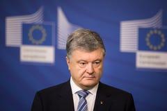 President van de Oekraïne Petro Poroshenko royalty-vrije stock afbeeldingen