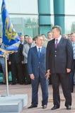 President van de Oekraïne Viktor Yanukovitch Stock Afbeeldingen