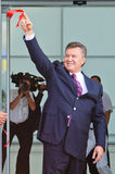 President van de Oekraïne Viktor Yanukovitch Stock Fotografie