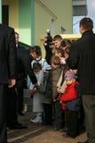 President van de Oekraïne Viktor Yushchenko Royalty-vrije Stock Afbeeldingen