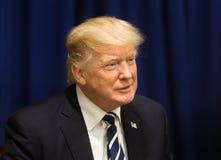 President van de Verenigde Staten Donald Trump stock fotografie