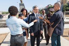 President van Kaapverdië, Jorge Carlos Almeida Fonseca Stock Afbeelding