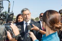 President van Kaapverdië, Jorge Carlos Almeida Fonseca Royalty-vrije Stock Afbeelding