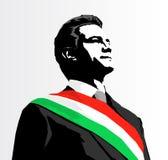 President van Mexico Enrique Pena Nieto royalty-vrije illustratie