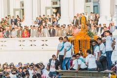 President van Nepal, MEVR. BIDYA DEVI BHANDARI, VIPs en andere Onderdompeling stock foto's