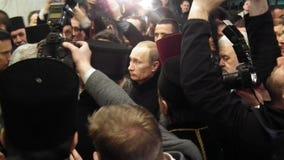 President Vladimir Putin Royaltyfri Foto