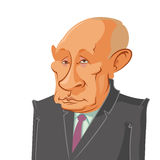 President Vladimir Putin Royalty Free Stock Photos