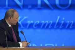 President Vladimir Putin Stock Photo