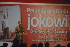 PRESIDENT WIDODO BIOGRAPHY Stock Image