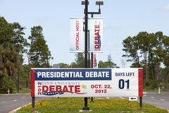 Presidental Debate Stock Photography