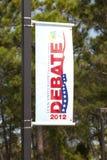 Presidental Debate Stock Photography