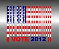 Presidental election. Royalty Free Stock Image