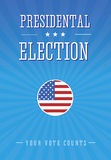 Presidental election. Your votes counts Stock Images