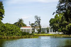 Presidental palace. In Bogor, Indonesia Stock Images