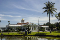 Presidental palace. In Bogor, Indonesia Royalty Free Stock Photos
