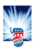 Presidente 2008 Election Imagen de archivo libre de regalías