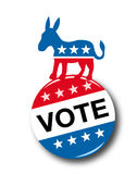 Presidente 2008 Election stock de ilustración
