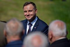 Presidente Andrzej Duda Fotos de Stock Royalty Free