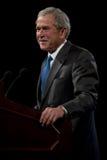 Presidente anterior George W. Bush Imagen de archivo libre de regalías