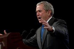 Presidente anterior George W. Bush Foto de archivo libre de regalías