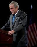 Presidente anterior George W. Bush fotos de archivo