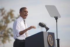 Presidente Barack Obama Imagem de Stock