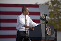 Presidente Barack Obama Imagem de Stock Royalty Free