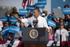 Presidente Barack Obama Imágenes de archivo libres de regalías