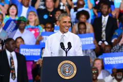 Presidente Barack Obama foto de stock royalty free