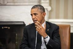 Presidente Barack Obama de Estados Unidos Imágenes de archivo libres de regalías